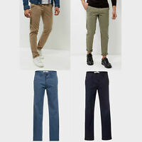 Mens New Look Slim Chinos Trousers Sizes 28/32 30/32