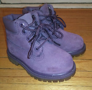 Timberland Leather Boots - Waterproof Shoe A1OD Size 7 Inch, TODDLER Timberlands