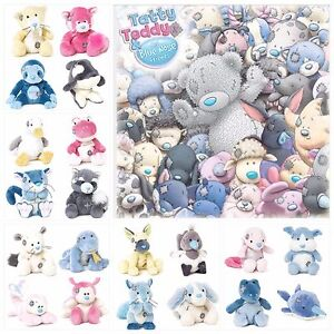 """TATTY TEDDY & MY BLUE NOSE FRIENDS *NEW 4"""" Plush Toy COLLECTABLES 22 Variations"""