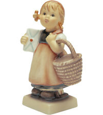 Hummel Meditation 13/4 NIB Downside Girl Holding Letter & Basket NEW IN BOX TMK9
