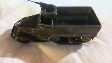DINKY TOYS miniature HALF TRACK M3 , N° 822 avec reproduction boîte