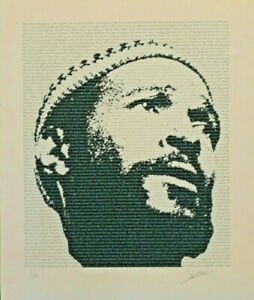 MARVIN GAYE POSTER - FINE ART LIMITED EDITION SIGNED AND NUMBERED BY DESIGNER