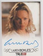 TRUE BLOOD ARCHIVES TRADING CARDS AUTOGRAPH CARD LAUREN BOWLES AS HOLLY CLEARY