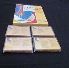 THE NORTON RECORDINGS 8TH EDITION 1999 SHORTER VERSION 4 cassettes SONY