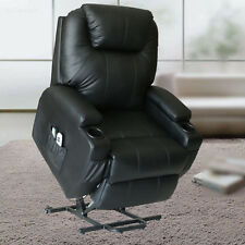 Electric Power Lift Massage Chair Shiatsu Recliner Sofa Heated Lounge 2 Controls