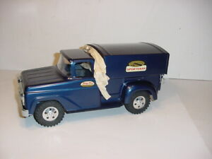 Vintage No. 29 Tonka Sportman & Box Trailer W/Original Box & Lookbook!