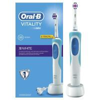 Braun Oral-B Vitality 3D White Precision Rechargeable Toothbrush & Charger Dock
