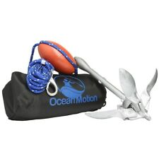 kayak Anchor Kit with 40 ft. of rope, collapsable anchor and storage bag