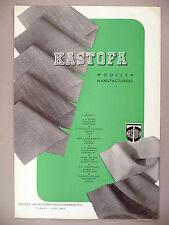 Kastofa Wool PRINT AD - 1947 ~ fabric, fashion ~ Tilburg, Holland