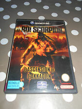 Le roi scorpion L'ascension de l'Akkadien Nintendo gamecube complet de sa notice