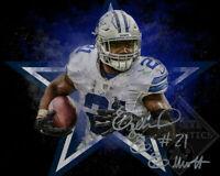 Ezekiel Elliott Autographed Signed 8x10 Photo ( Cowboys ) REPRINT ,