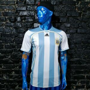 Argentina Team Jersey Home football shirt 2006 - 2007 Adidas 739802 Mens Size M