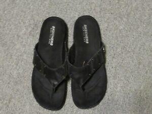 90/6 SKECHERS Damen Schuhe Zehentrenner schwarz Gr.  38 Sandalen