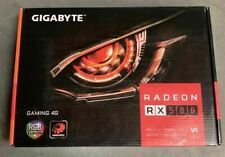 Gigabyte Radeon RX 580 Gaming 4G (Gig) Graphics Card GDDR5/256Bit/HDMI/DP3/DVI-D