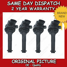 VOLVO S80 IGNITION COIL X4 PENCIL COIL 1998>2006 *BRAND NEW*