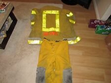 AUTHENTIC ORLANDO FLORIDA FIRE DEPARTMENT FIREFIGHTER SUIT JACKET PANTS LION