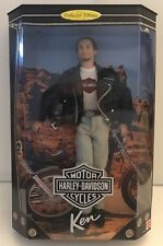 Harley Davidson Motor Cycles Barbie Ken Doll Collection 22255 NRFB