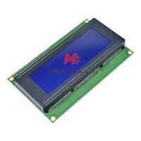 5V 2004 LCD Display IIC/I2C/TWI/SPI Blue-with I2C Adapter Board Module 20*4