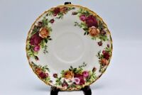 Vintage Royal Albert England Old Country Roses Bone China Saucer Plate ~ 5 1/2""