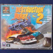 Ps1-PLAYSTATION ► Destruction Derby 2 ◄ prima edizione | bigBox