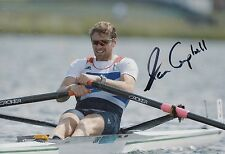 Alan Campbell Hand Signed 12x8 Olympics 12x8 Photo Great Britain.