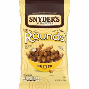 Snyder's of Hanover Rounds Butter 12 oz
