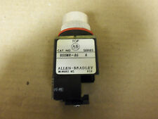 NEW AB Allen Bradley Push Button 800MR-A6 Series A with 800M-XA Contact Block