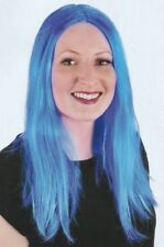 Luxury Long Wig - Blue Great for Fun Nights Out - Perfect Moments