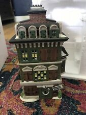 Dept 56 Dickens Village The Flat of Ebenezer Scrooge # 55875 Retired