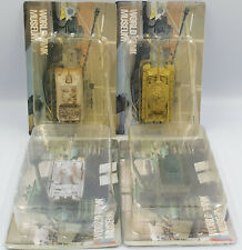 ARMY : SET OF 4 TANK MODELS FROM THE WORLD TANK MUSEUM SERIES
