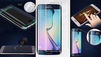 Wölbung Display Schutz Folie Samsung Galaxy S6 Edge Plus + komplett Rand Panzer