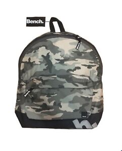 Brand New Bench Camo Backpack