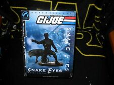 PACIFIC PALISADES G.I. JOE SNAKE EYES MINI STATUE W/ TIMBER #4 OF 60