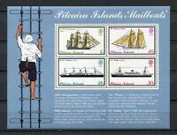 25181) . Pitcairn 1975 MNH New Mailboats - Ships Boats S/S