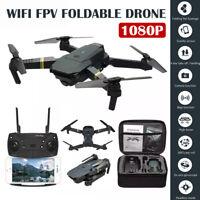 360 Degree E58 WIFI FPV 1080P//4K HD RC Drone Camera LED Spotlight Quadcopter Set