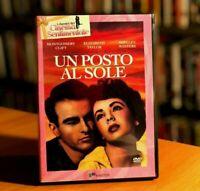UN POSTO AL SOLE (1951) Montgomery Clift Elizabeth Liz Taylor DVD COME NUOVO