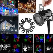 LED Laser Projektor Gartenlicht Beleuchtung Laserlicht Außen Xmas Wasserdicht DE