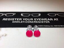 New Oakley Jawbone/Racing Jacket/Split Jacket  Pink/Lava Thru Bolt Set