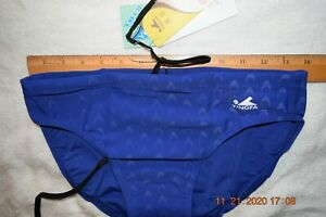 Mens   Yingfa  swim brief   Blue   32   [#1326]