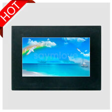 7' Industry HMI RS232 RS485 TFT LCD Display Touch Screen w/ Case IP65 CE RoHS