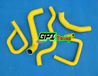 Silicone Radiator Hose Kit  Ford Falcon BA BF XR6 Turbo YELLOW NEW