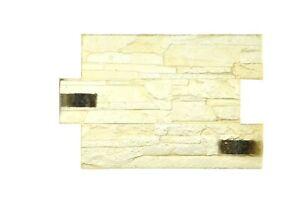 3D Stone Pattern Vertical Decorative Imprint Concrete Cement Mat Stamp Monaco