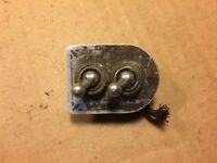 Pair of 1940s Toggle Power Switches AH&H for Ham Radio or Tube Guitar Amplifier