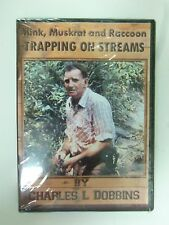 """DVD - Dobbin's - """"Mink, Muskrat and Raccoon Trapping on Streams""""  Traps Raccoon"""