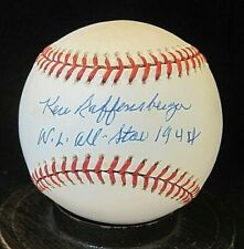 Ken Raffensberger Signed ONL Baseball JSA Authentic 1939-1954; Cincinnati Reds