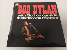 "BOB DYLAN ""WITH GOD ON OUR SIDE"" ORIG FR EP 1967 M-/M-"