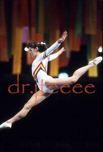 1984 OLYMPICS Ecaterina Szabo - 35mm Gymnastics Slide