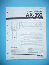 Service Manual für Yamaha AX-392  ,ORIGINAL