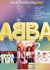 Akkordeon Noten : ABBA  Heft 2 -  mittelschwer -  (Akkordeon pur) VHR 1809