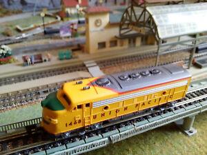 Bachmann plus Spur N 11253 EMD F7a Union Pacific RN 1468 OVP